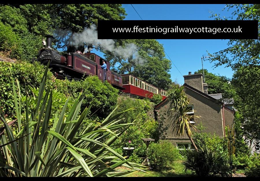 Ffestiniog Railway Cottage Railway Station Cottages