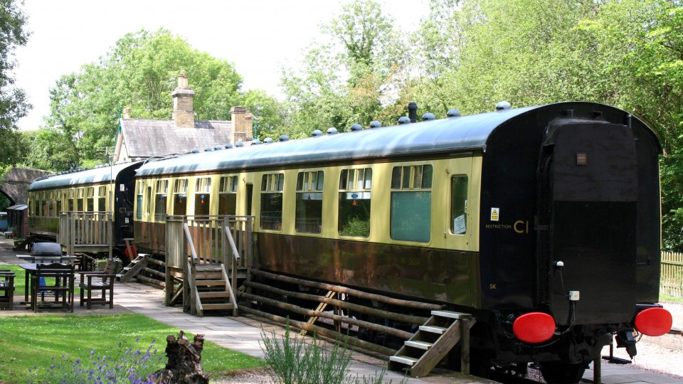 4 View of Carriages from car park