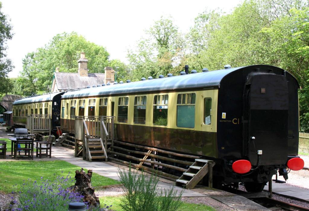 Carriage 1 Coalport Station Coalport Railway Station