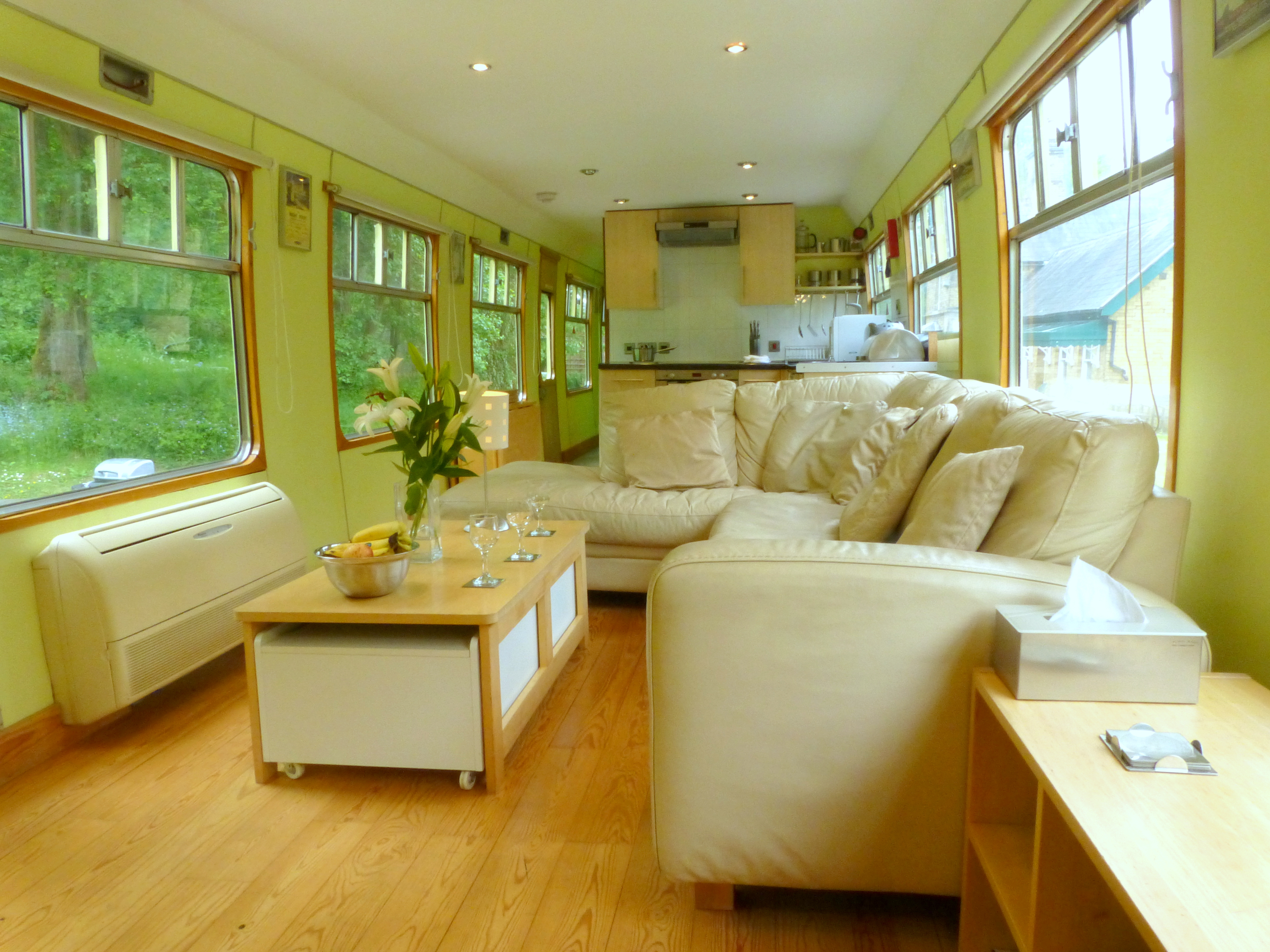 11 C1 Kitchen Lounge Diner Railway Station Cottages
